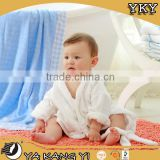 100%cotton terry cloth child bathrobe for hotel YKY618