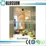 decorating design bathroom frameless beveled edge wall mirrors                                                                                                         Supplier's Choice