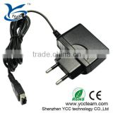 Black AC Charger Adapter For GBA SP/NDS