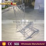 Transparent Crystal Acrylic Chiavari Chair for Party and Wedding