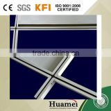 T38 High Quality Painted White Flat Ceiling T Grid/Ceiling T Bar/Suspended ceiling t grid