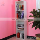 European style furniture/simple/solid wood/white oak wood bookshelf/bookcase/cabinet