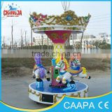 high quality and cheaper attractions musical carousel coin operated amusement equipment merry go round