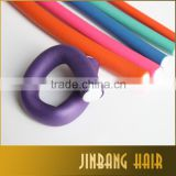 New Colorful 10Pcs/Set Soft Foam Bendy Hair Rollers Curlers Cling Bendy Rollers Hair Styling Curler Curly Wand Roller