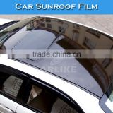 1.35x15m Glossy Black Clear Protection Car Sunroof Protection Vinyl Roll