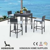 Leisure Outdoor Garden Aluminium Frame Rattan Used Bar Furniture                                                                         Quality Choice