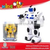 New b/o robot toy kids educational toy Battery operated electronic robot toy