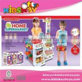 kids plastic supermarket toy set