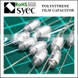 Factory Brand Axial Lead 33pF 50V Polystyrene Film Capacitor