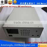 XAX07Alu OEM ODM customized laser cut bend weld plate aluminum communication products box