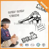 01-00104 3D animation ad wall sticker quotes sunboy 3d wall sticker