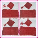 2015 newborn baby christmas gift set wholesale newborn photo props crochet newborn baby mohair set