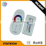 12V~24VDC 2.4G RGB 16 channel DALI drive wireless touch controller/Dimmer for led light