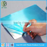 Milky white color Pe trostatic Protective Film For Pvc Plate Solar Panels/windows and doors