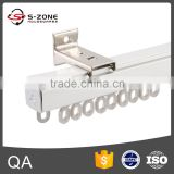 top quality curtain rail system ceiling with curtain track gliders plastic