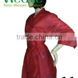 Nonwoven Kimono Disposable for SPA Use with Short Sleeve / PP Beauty Robe