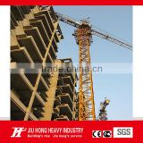 Tower Crane QTZ63(5210) tower crane boom length 52m, tip load 1.0T,tower crane lifting capacity 5t (split mast section)