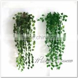 Real look Wholesale cheap price Artificial Wall Hanging vines plastic material ivy for indoor decoration