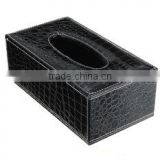 PU Leather Luxury Tissue Box Cover, Tissue Holder , Tissue Box Cover Square Tissue Box Holder , table napkin box