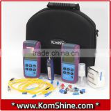 Cheap Fishing KLT-25M Optic Fiber Testing Tool Kit/OPM+OLS Fiber Power Meter+ Light Source VFL 10km 1mW