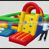Amazing!!! Popular and high quality commercial inflatable castle jumper with slide, inflatable jumping castle, baby bouncer