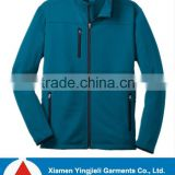 Fashion 100% polyester pique fleece jacket no hood for men/ Bonded fleece jacket Men