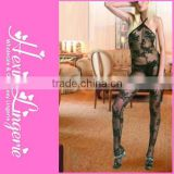 Mature woman club nigh Sexiest fishnet bodystocking