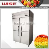 2016 New Product Efficient 4 Door Commercial Use Stainless Steel Fridge As Hotel Equipment