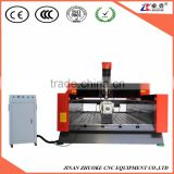 Unique Design 600MM High Z-Axis 4 Axis CNC Stone Carving Machine For Marble Tombstone ZK-1325 With PCI NcStudio Controller