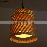 Modern design home wooden cage pendant light,Wooden cage pendant light,Cage pendant light P1022-32                                                                         Quality Choice