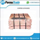99.99% Electrolytic Copper Cathodes at Best Factory Price