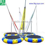 high quality bungee trampoline for sale, CE euro standard adult bungee trampoline hot sale