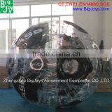 Customized clear zorb ball/adult zorb ball/cheap zorb balls for bowling