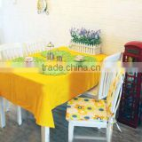 Customized 600D rectangle polyester table cloth or table cover cheap price with high quality