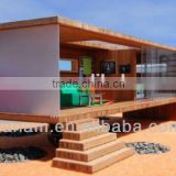 China XGZ ocean shipping solar power container home with color glass