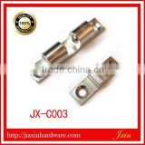 chrome plated brass wooden door stopper