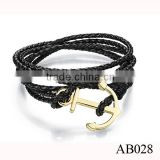 925 Sterling Silver Design Genuine Stingray Leather Silver Bracelet 925 Bracelet for Men