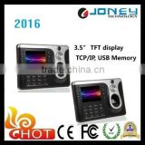 3.5 inch Fingerprint time attendance and access control with real time fingerprint picture display