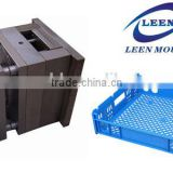 Taizhou Experienced Plastic Commodity Food Bakery Tray Mould Maker, Injection Transport Bread Crate Mould