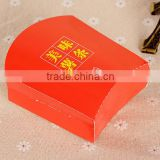 red Custom Printed Paper Fish and fried Chips paper Box