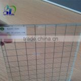 6mm wire glass clear wired glass diamond 4mm wired patterned glass