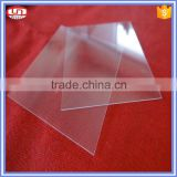Heat resistant Squar transparent uv quartz glass plate