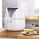 1230W Automatic Temperature Controlled Timer Hot Air Fryer Oil Free Cooking