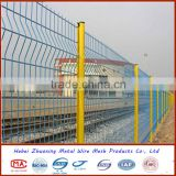 wrought iron fence cyclone wire fence philippines with pvc coated (factory price)