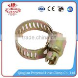 zinc plated american type black garden hose clamp