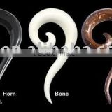 Fashion ear plug body jewelry, spiral ear body piercing jewelry ear plug piercing jewelry