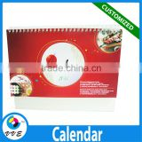 High-end Promotion Gift Calendar With Hot Stamping Logo