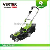 36V Cordless Lawn Mower with 5 Positions ,36V Lithium Cordless Push Mower with Grass Collection, 17 Inch Li Battery Lawn Mower