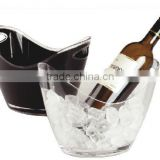 Acrylic Wine cooler for 2 bottles