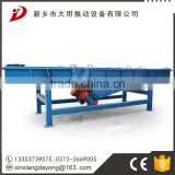 Linear vibrating screen sieve for glass recycling